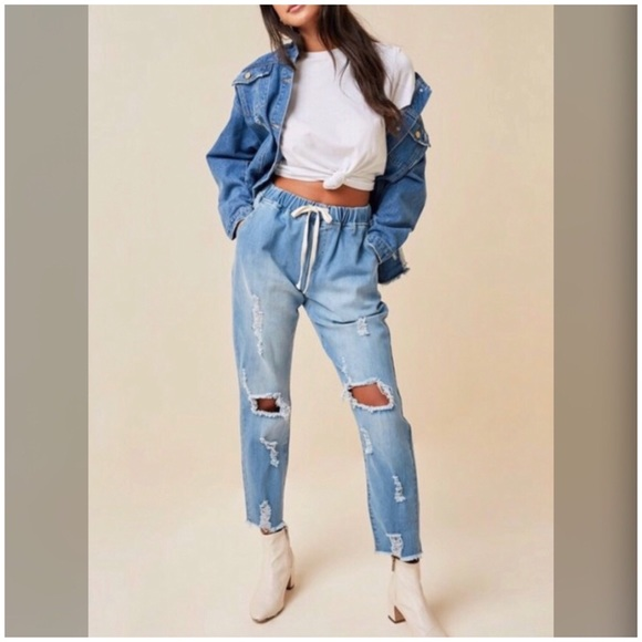 Hayden Denim - Edgy Distressed Ripped Street Style Jeans